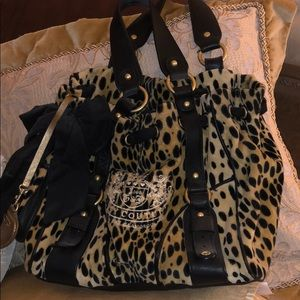 Juicy Couture cheetah purse